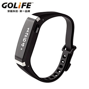 GOLiFE Care-X smart band全台首款智慧悠遊手環(銀黑色)