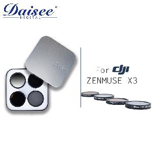 Daisee FOR DJI Zenmuse X3四合一濾鏡組