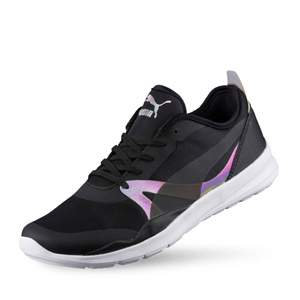 PUMA-女性-Duplex Irrid Core Wn's-復古慢跑運動鞋_黑(UK5)