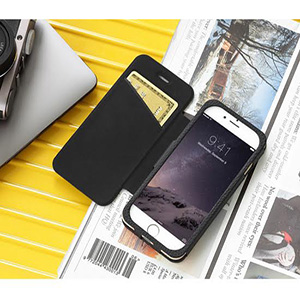 Just Mobile Quattro Folio for iPhone 6/6s經典真皮可立式皮套