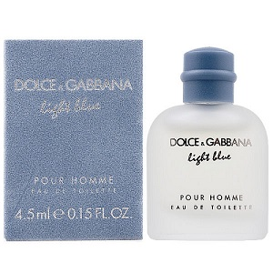 Dolce & Gabbana Light Blue 淺藍男性小香水 (4.5ml)