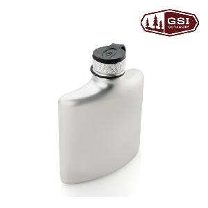 【美國GSI】Glacier Stainless 8 FL. OZ. Hip Flask 不鏽鋼酒壺