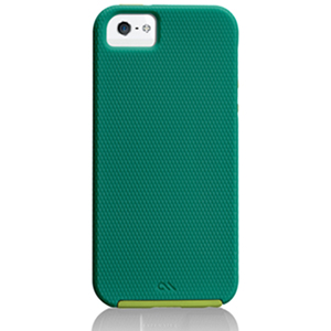 CASE-MATE TOUGH iPhone SE/5S 輕薄吸震保護殼(綠)