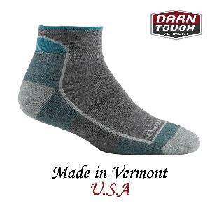 【美國DARN TOUGH】Soild 1/4 Sock Cushion1/4襪深灰色-2入(M)
