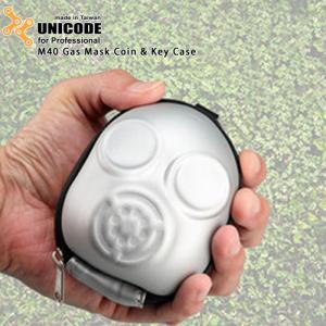 UNICODE 防毒面具零錢包 M40 Gas Mask Coin & Key Case