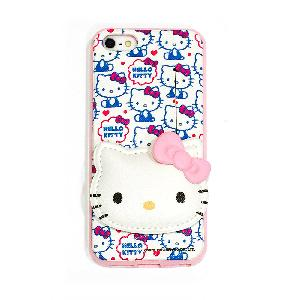 iPhone5 / 5S通用型HELLO KITTY可插卡手機套(KITTY)