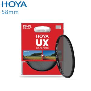 HOYA UX SLIM 58mm 超薄框CPL偏光鏡