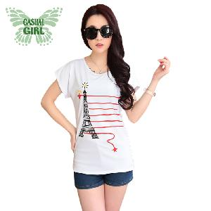 CASUAL GIRL�u����k�ġvT-SHIRT(�ھ��K��)