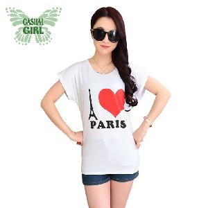 CASUAL GIRL�u����k�ġvT-SHIRT(�ڷR�ھ�)