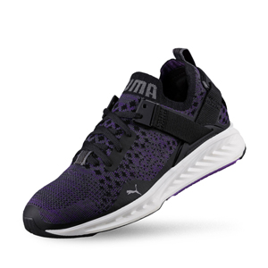 PUMA-女性-IGNITE evoKNIT Lo Wn's-慢跑運動鞋_黑(UK4)
