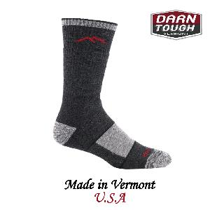 【美國 DARN TOUGH】 Boot Sock Full Cushion 健行系列全筒襪 黑色(L)