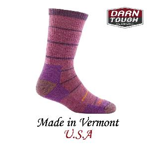 【美國DARN TOUGH】Summit Stripe Sock Cushion 等長襪 薰衣草(M)