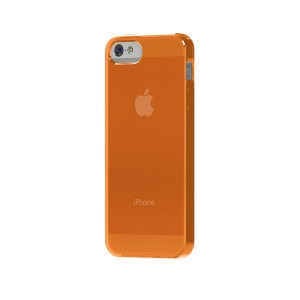 TUNEWEAR SOFTSHELL iPhone SE/5s TPU保護殼(橘色)-商品縮圖1