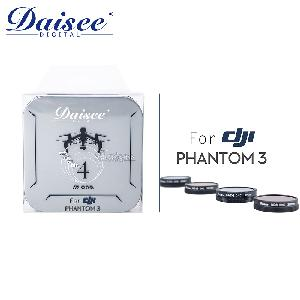 Daisee FOR DJI Phantom3四合一濾鏡組