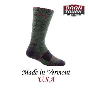 【美國DARN TOUGH】Boot Sock Full Cushion 等長襪-墨綠色(M)