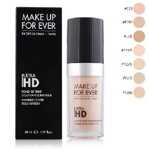 MAKE UP FOR EVER ULTRA HD超進化無瑕粉底液(30ml)-多色可選(#118)