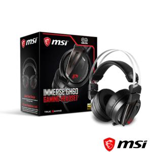 msi微星 Immerse GH60 GAMING Headset 電競耳機