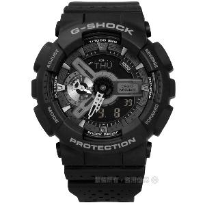 G-SHOCK CASIO/GA-110LP-1A�d��ڹB�ʭ���A�_����q�l�󽦤�� �¦� 51mm