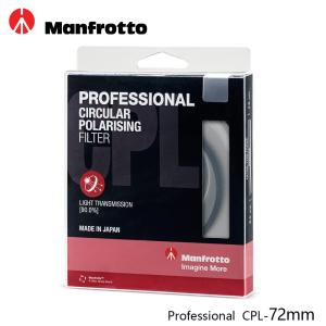 Manfrotto 72mm CPL鏡 Professional濾鏡系列