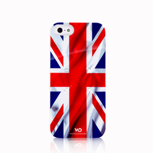 White Diamonds Flag iPhone SE/5S 國旗水晶保護殼(英國)
