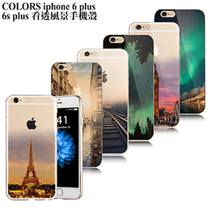 Colors iPhone 6+ /6S Plus �ݳz���������(�˪L����)