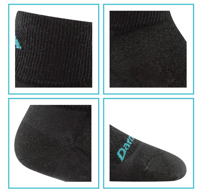 �i���DARN TOUGH�j No Show Ulatr-Light Cushion �¦�-2�J(M)-�ӫ~²����3