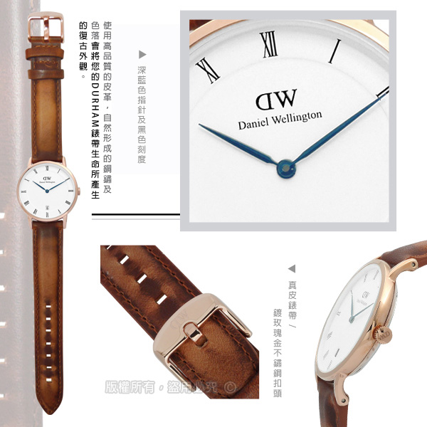 Daniel Wellington/DW00100113/Dapper�u�֤�� ����x�L�@��34mm-�ӫ~²����2