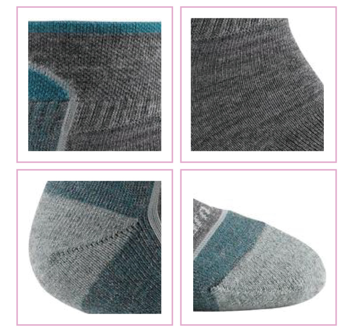 �i���DARN TOUGH�jSoild 1/4 Sock Cushion1/4��`�Ǧ�-2�J(S)-�ӫ~²����3
