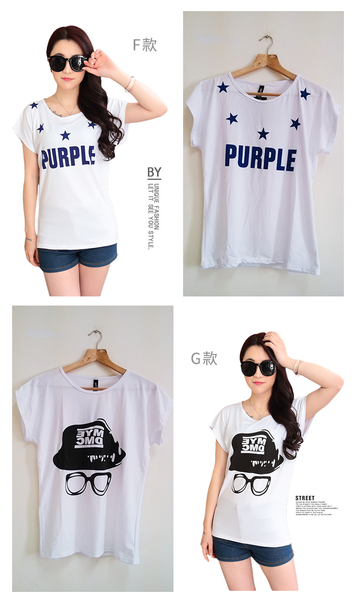 CASUAL GIRL�u����k�ġvT-SHIRT(�ھ��K��)-�ӫ~²����4