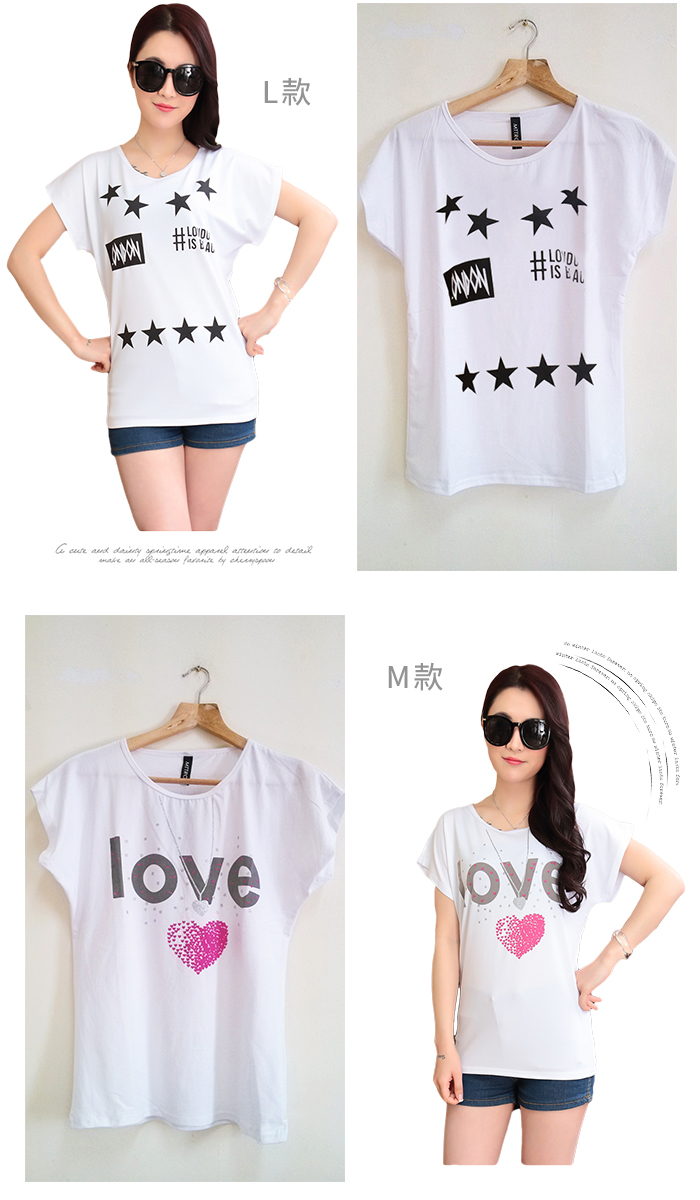 CASUAL GIRL�u����k�ġvT-SHIRT(�ھ��K��)-�ӫ~²����7