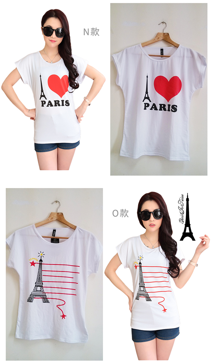 CASUAL GIRL�u����k�ġvT-SHIRT(�ھ��K��)-�ӫ~²����8