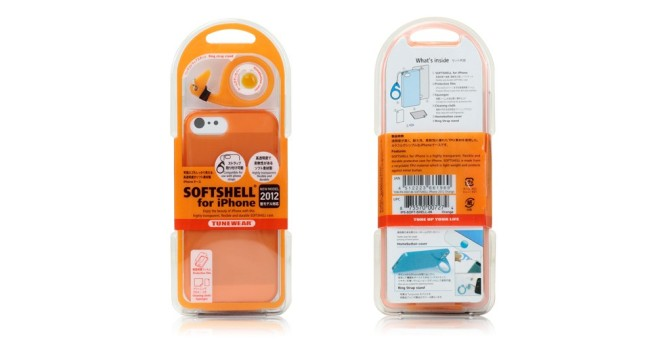 TUNEWEAR SOFTSHELL iPhone SE/5s TPU保護殼(藍色)-商品簡介圖6