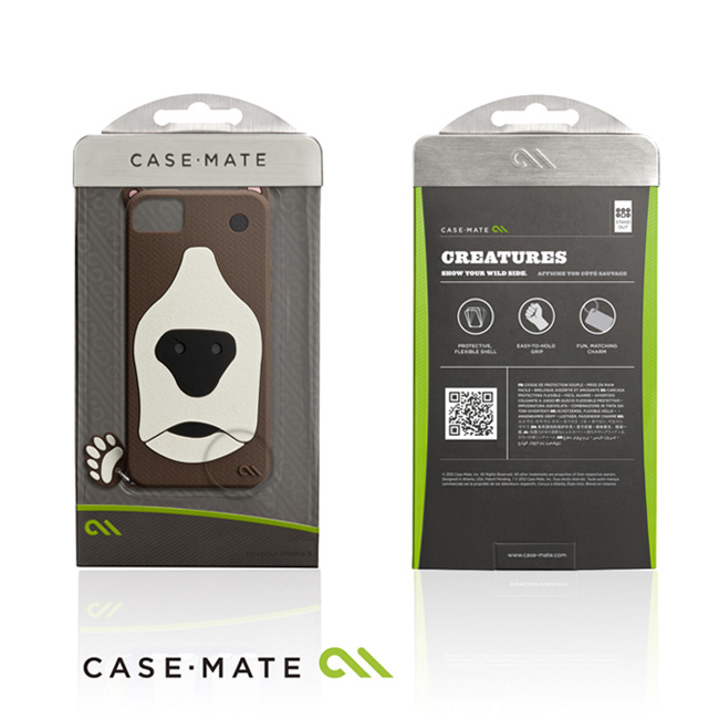 CASE-MATE CREATURE iPhone SE/5S ���骿���O�@��(�Ħ�Ǻ�)-�ӫ~²����2