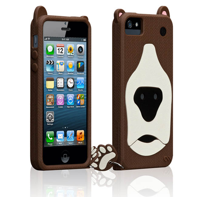 CASE-MATE CREATURE iPhone SE/5S ���骿���O�@��(�Ħ�Ǻ�)-�ӫ~²����4