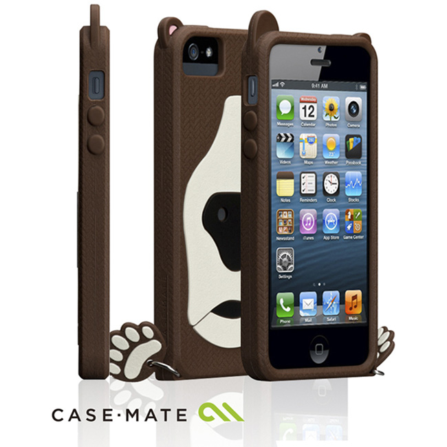 CASE-MATE CREATURE iPhone SE/5S ���骿���O�@��(�Ħ�Ǻ�)-�ӫ~²����5