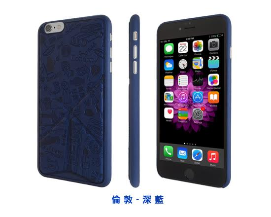 Ozaki O!coat 0.3+Travel Versatile for iPhone6s/6(羅馬(黑灰))-商品簡介圖3