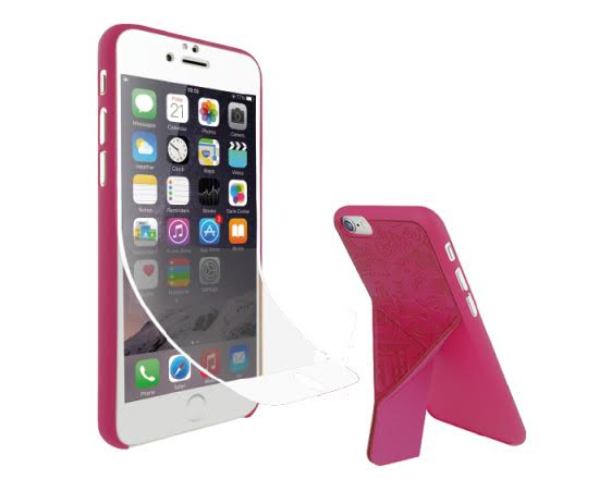 Ozaki O!coat 0.3+Travel Versatile for iPhone6s/6(巴黎(粉色))-商品簡介圖1