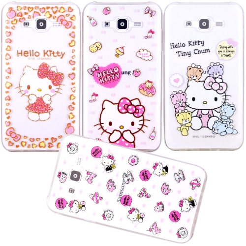 �iHello Kitty�jSamsung Galaxy J7 / SM-J700 ����mø�z��O�@�n(�氮)-�ӫ~²����1