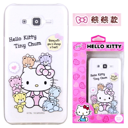 �iHello Kitty�jSamsung Galaxy J7 / SM-J700 ����mø�z��O�@�n(�氮)-�ӫ~²����10