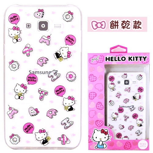 �iHello Kitty�jSamsung Galaxy J7 / SM-J700 ����mø�z��O�@�n(�氮)-�ӫ~²����7