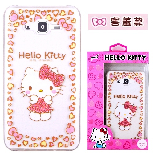 �iHello Kitty�jSamsung Galaxy J7 / SM-J700 ����mø�z��O�@�n(�氮)-�ӫ~²����8