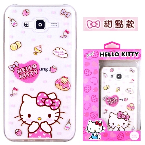 �iHello Kitty�jSamsung Galaxy J7 / SM-J700 ����mø�z��O�@�n(�氮)-�ӫ~²����9