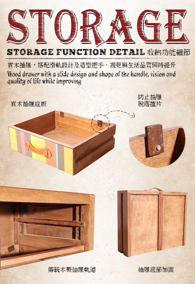 【ALMI】DOCKER BAYADERE-BEDSIDE 1 DRAWER 床頭櫃-商品簡介圖5