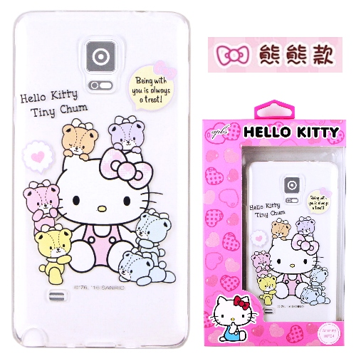 �iHello Kitty�jSamsung Galaxy Note 4 ����mø�z��O�@�n�M(�氮)-�ӫ~²����10