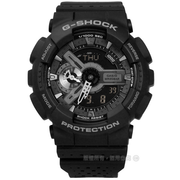 G-SHOCK CASIO/GA-110LP-1A�d��ڹB�ʭ���A�_����q�l�󽦤�� �¦� 51mm-�ӫ~²����1