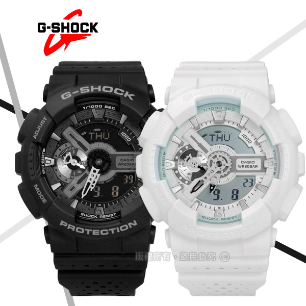 G-SHOCK CASIO/GA-110LP-1A�d��ڹB�ʭ���A�_����q�l�󽦤�� �¦� 51mm-�ӫ~²����3