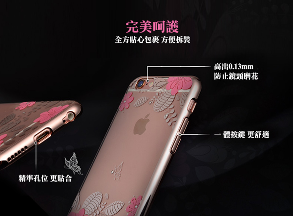 USAMS iphone 6 / iphone 6s �|�u��ثO�@�����(�����)-�ӫ~²����8