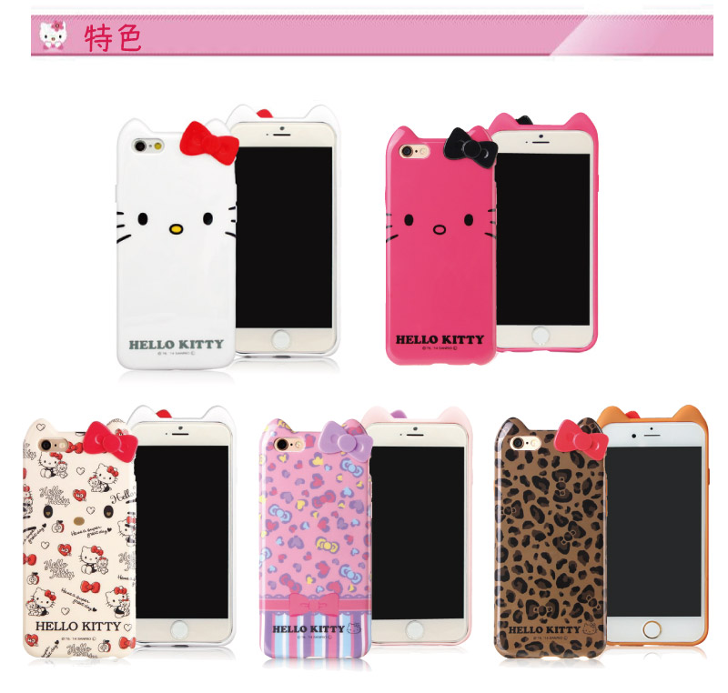 GD iPhone 6 / iPhone 6s Kitty���齹�����O�@�M(�g���)-�ӫ~²����2