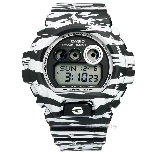 G-SHOCK CASIO/GD-X6900BW-1�d�����ⴳ�����q�l�󽦵ÿ� �¥զ� 50mm-�ӫ~²����1