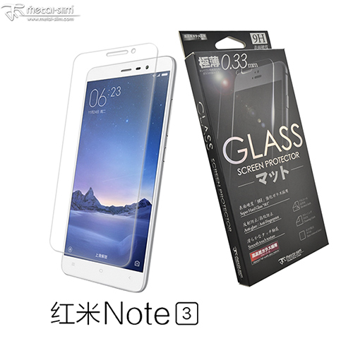 Metal-Slim Xiaomi ���� Note 3 0.26mm 9H����@�i�����Ƭ����O�@(����NOTE 3)-�ӫ~²����1